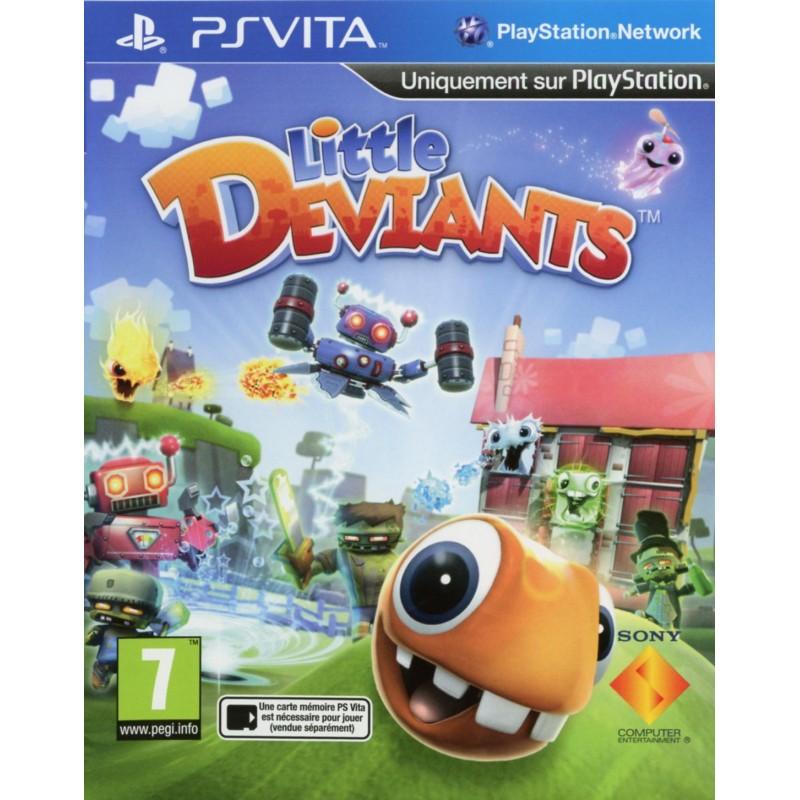 PSV LITTLE DEVIANTS - Jeux PS Vita au prix de 12,95€