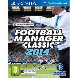 PSV FOOTBALL MANAGER 2014 - Jeux PS Vita au prix de 12,95€