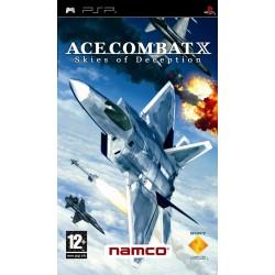 PSP ACE COMBAT X SKIES OF DECEPTION - Jeux PSP au prix de 4,95€