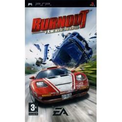 PSP BURNOUT LEGENDS - Jeux PSP au prix de 4,95€