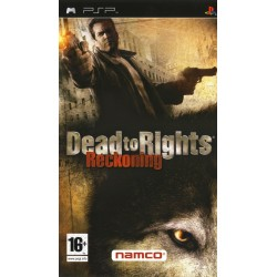 PSP DEAD TO RIGHTS - Jeux PSP au prix de 7,95 €