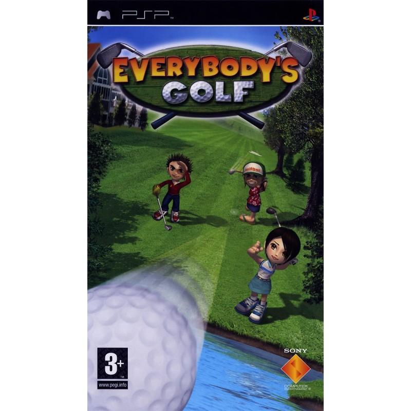 PSP EVERYBODYS GOLF - Jeux PSP au prix de 4,95€