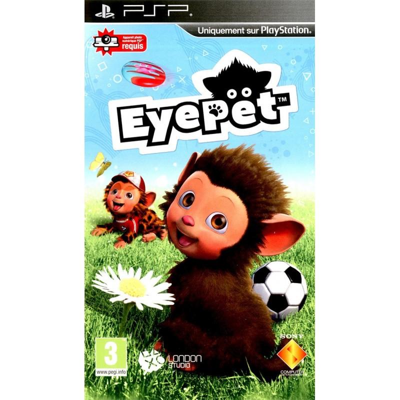PSP EYEPET - Jeux PSP au prix de 4,95€