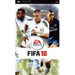 PSP FIFA 10 - Jeux PSP au prix de 1,95€