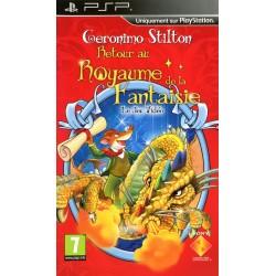 PSP GERONIMO STILTON : RETOUR AU ROYAUME DE LA FANTAISIE - Jeux PSP au prix de 4,95€