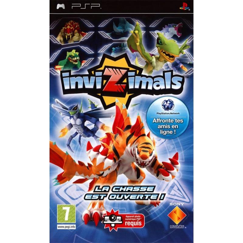 PSP INVIZIMALS - Jeux PSP au prix de 6,95€