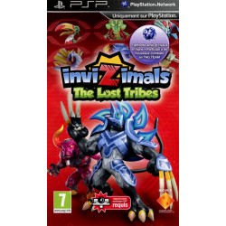 PSP INVIZIMALS THE LOST TRIBES - Jeux PSP au prix de 5,95 €