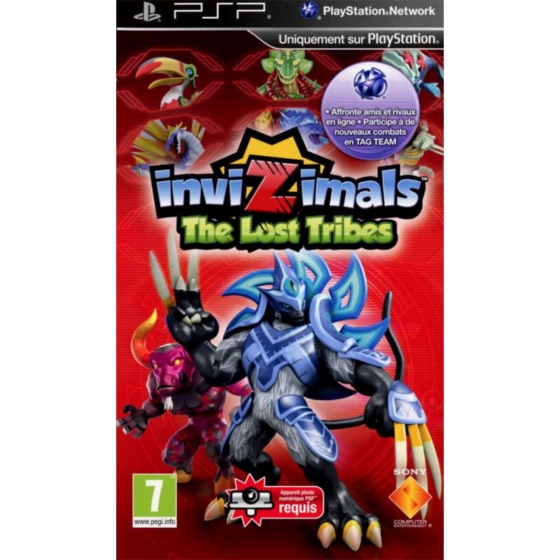 PSP INVIZIMALS THE LOST TRIBES - Jeux PSP au prix de 5,95€