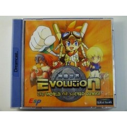 DC EVOLUTION THE WORLD OF SACRED DEVICE - Jeux Dreamcast au prix de 19,95 €