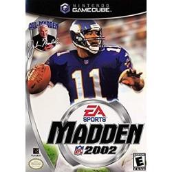 GC MADDEN NFL 2002 US - Jeux GameCube au prix de 1,95€