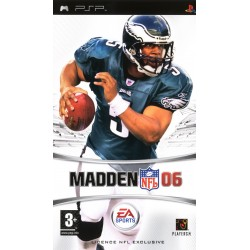 PSP MADDEN NFL 06 - Jeux PSP au prix de 6,95€