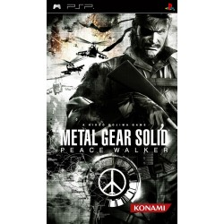 PSP METAL GEAR SOLID PEACE WALKER - Jeux PSP au prix de 9,95€