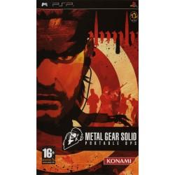 PSP METAL GEAR SOLID PORTABLE OPS - Jeux PSP au prix de 6,95€