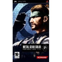 PSP METAL GEAR SOLID PORTABLE OPS PLUS - Jeux PSP au prix de 9,95€