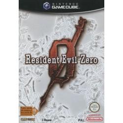 GC RESIDENT EVIL ZERO - Jeux GameCube au prix de 19,95€