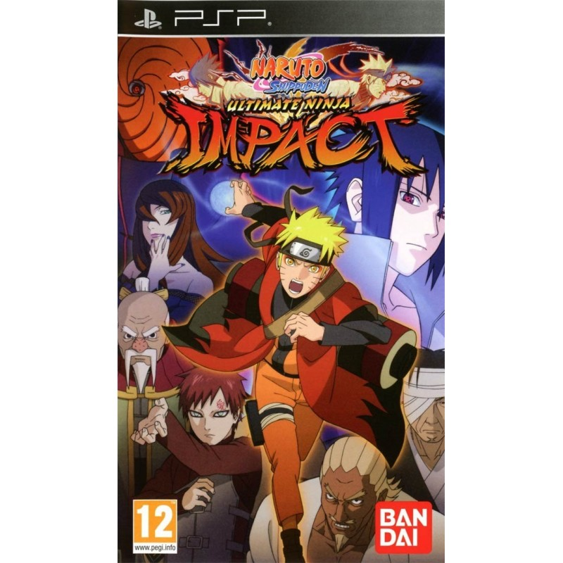 PSP NARUTO ULTIMATE NINJA IMPACT - Jeux PSP au prix de 5,95€