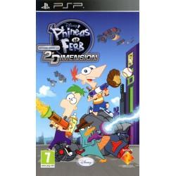 PSP PHINEAS ET FERB : VOYAGE DANS LA DEUXIEME DIMENSION - Jeux PSP au prix de 4,95€