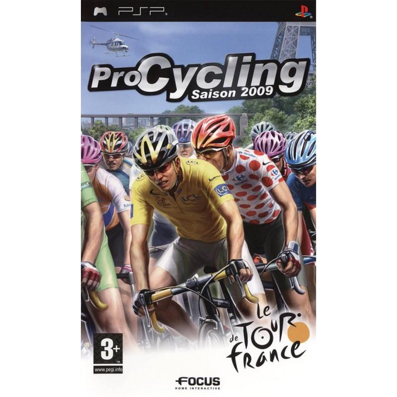 PSP PRO CYCLING SAISON 2009 - Jeux PSP au prix de 4,95€