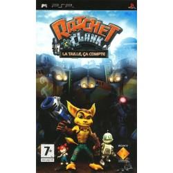 PSP RATCHET & CLANK : LA TAILLE, CA COMPTE - Jeux PSP au prix de 4,95€