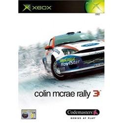 XB COLIN MCRAE RALLY 3 - Jeux Xbox au prix de 2,95€
