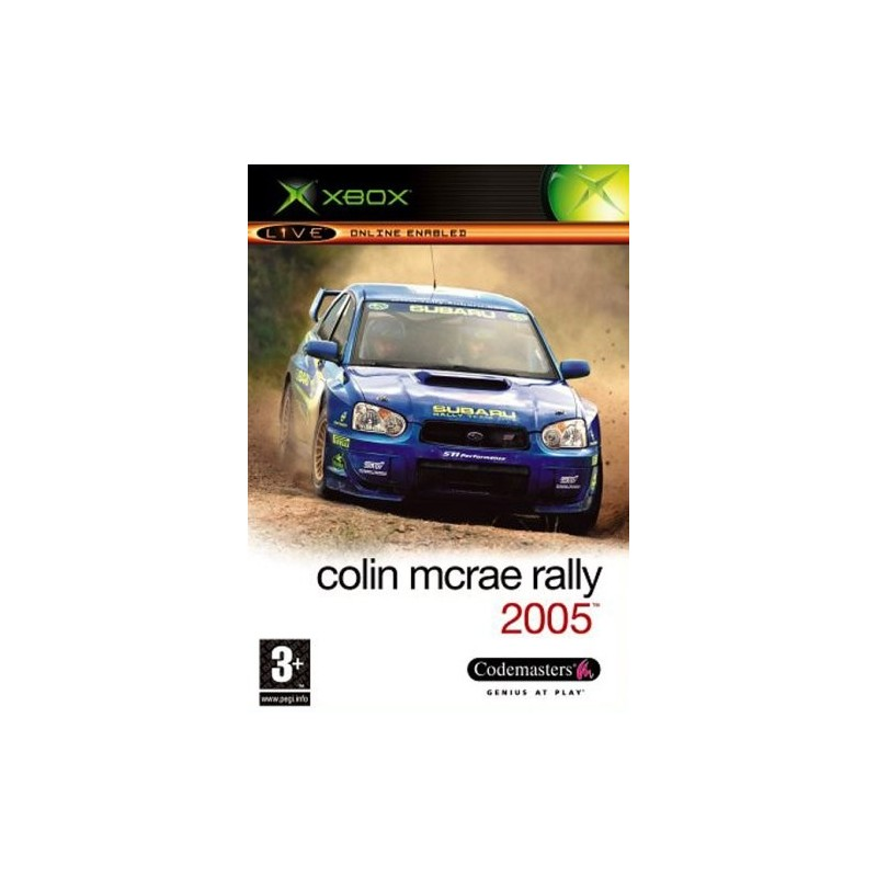 XB COLIN MCRAE RALLY 5 - Jeux Xbox au prix de 4,95€