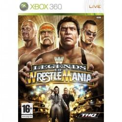 X360 LEGENDS OF WRESTLEMANIA - Jeux Xbox 360 au prix de 4,95€