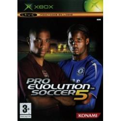 XB PRO EVOLUTION SOCCER 5 - Jeux Xbox au prix de 2,95€