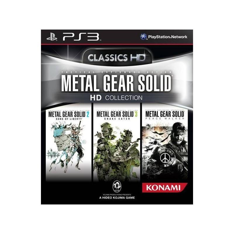 PS3 METAL GEAR SOLID HD COLLECTION - Jeux PS3 au prix de 14,95€