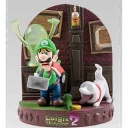 DIORAMA THE YEAR OF LUIGI (LUIGIS MANSION 2) - Figurines au prix de 59,95 €