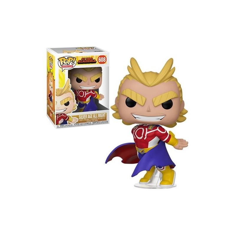 POP MY HERO ACADEMIA 608 SILVER AGE ALL MIGHT - Figurines POP au prix de 14,95€