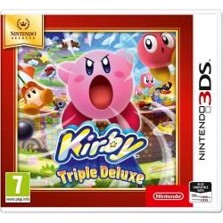3DS KIRBY TRIPLE DELUXE SELECTS - Jeux 3DS au prix de 14,95€