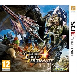 3DS MONSTER HUNTER 4 ULTIMATE - Jeux 3DS au prix de 14,95 €