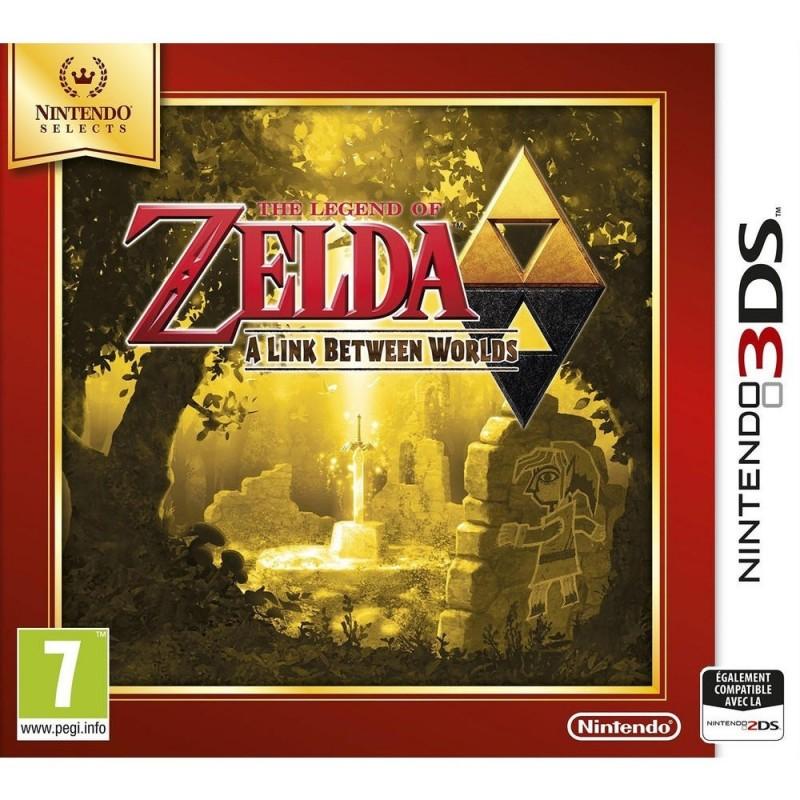 3DS THE LEGEND OF ZELDA A LINK BETWEEN WORLDS SELECTS - Jeux 3DS au prix de 14,95€