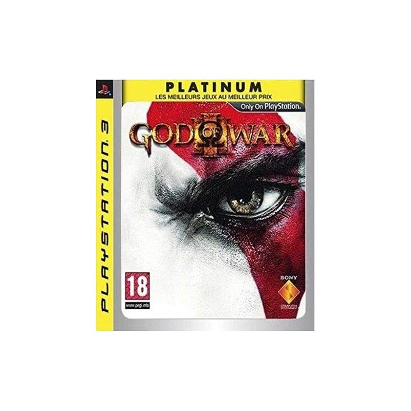 PS3 GOD OF WAR 3 (PLATINUM) - Jeux PS3 au prix de 4,95€