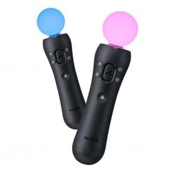 PS4 PLAYSTATION MOVE MOTION CONTROLLER TWIN PACK - Accessoires PS4 au prix de 79,95€
