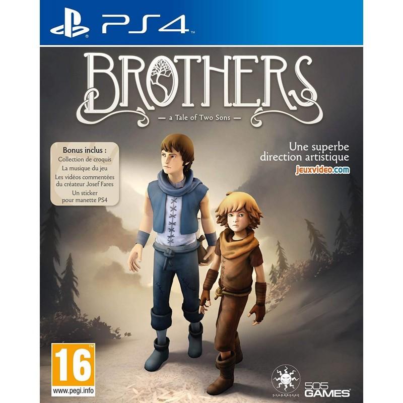 PS4 BROTHERS A TALE OF TWO SONS - Jeux PS4 au prix de 19,95€