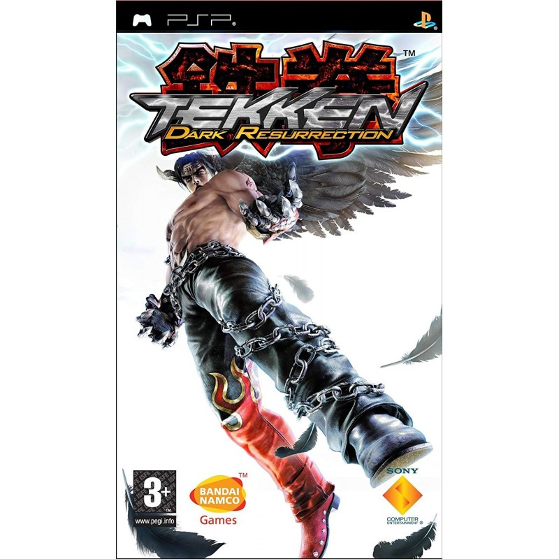 PSP TEKKEN DARK RESURRECTION - Jeux PSP au prix de 4,95€