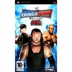 PSP WWE SMACKDOWN VS RAW 2008 - Jeux PSP au prix de 3,95€