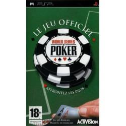 PSP WORLD SERIES OF POKER - Jeux PSP au prix de 4,95€