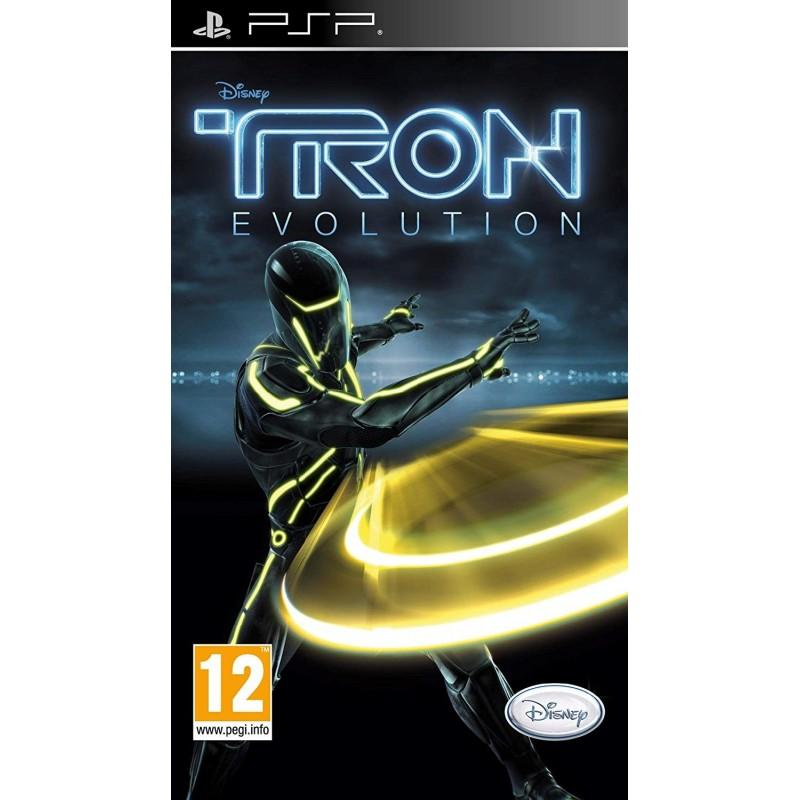 PSP TRON EVOLUTION - Jeux PSP au prix de 4,95€