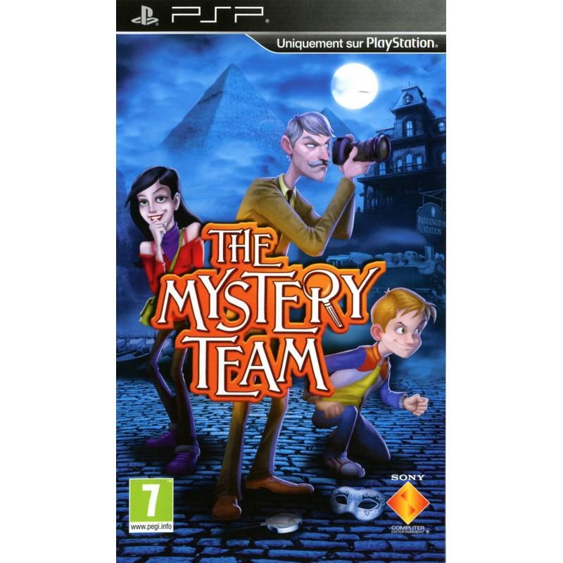 PSP THE MYSTERY TEAM - Jeux PSP au prix de 4,95€