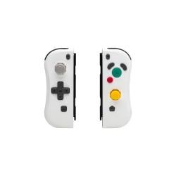 PAIRE JOYCON SWITCH GAMECUBE BLANCHE UNDERCONTROL - Accessoires Switch au prix de 49,95€