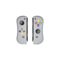 PAIRE JOYCON SWITCH NES GRIS UNDERCONTROL - Accessoires Switch au prix de 49,95€