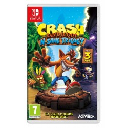 SWITCH CRASH BANDICOOT N SANE TRILOGY OCC - Jeux Switch au prix de 24,95 €