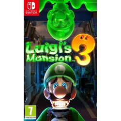 SWITCH LUIGIS MANSION 3 - Jeux Switch au prix de 59,95 €