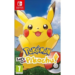 SWITCH POKEMON LETS GO PIKACHU - Jeux Switch au prix de 49,95 €