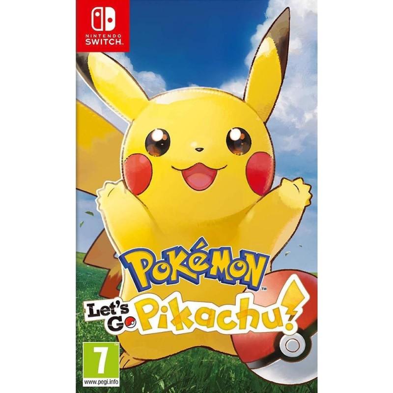SWITCH POKEMON LETS GO PIKACHU - Jeux Switch au prix de 49,95€
