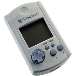 CARTE MEMOIRE OFFICIELLE BLANCHE DREAMCAST (NEUF) (IMPORT JAP) - Accessoires Dreamcast au prix de 14,95€
