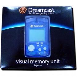 CARTE MEMOIRE OFFICIELLE BLEUE DREAMCAST (NEUF) (IMPORT JAP) - Accessoires Dreamcast au prix de 9,95€