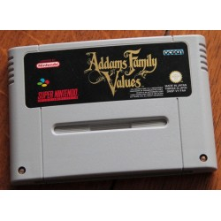 SN ADDAMS FAMILY VALUES (LOOSE) - Jeux Super NES au prix de 19,95€